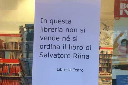 Libreria di lecce qui non si vende il libro di riina jr for Porta a libro non si chiude